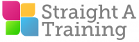 straight a training logo
